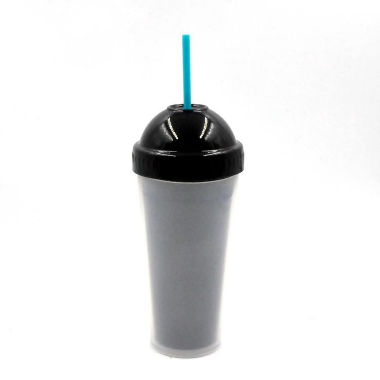 Xinyuetang customizable tumbler cups with lid and straw plastic 480ml XYT-JLS16519