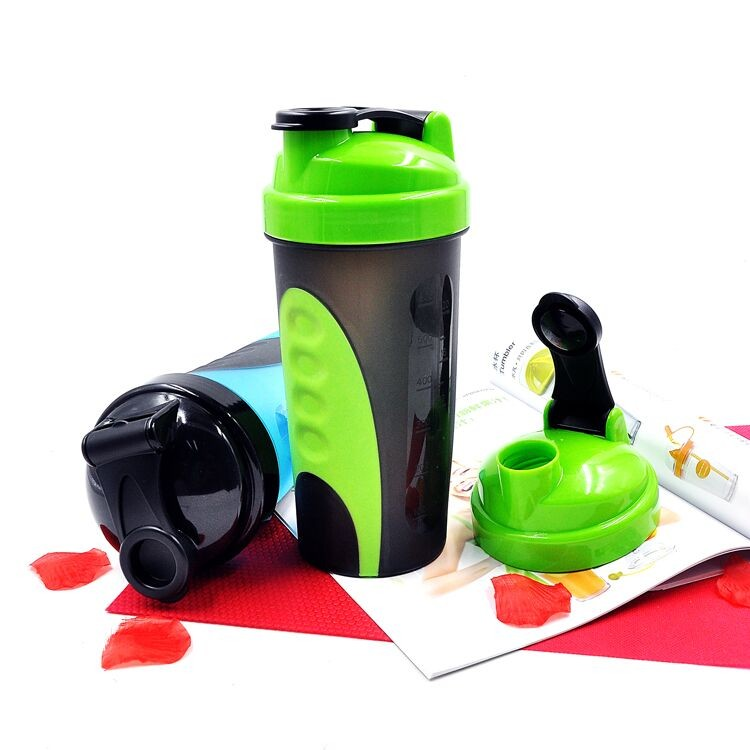 Xinyuetang joyshaker new shaker bottle for protein shakes BPA free 600ml clear colors  XYT-YS747