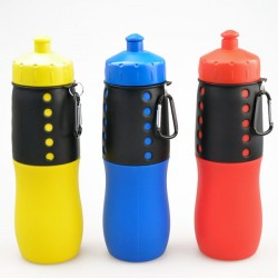 Bottledjoy Silicone travel bottle BPA free silicone bottle with nozzle on caps XYT-YDS001-10