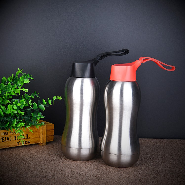 Xinyuetang Double Wall Vacuum Insulated Stainless Steel Water Bottle 350ml,12oz Unique Design XYT-ZSS302