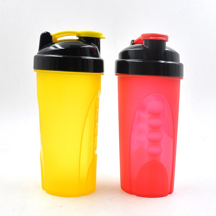Xinyuetang joyshaker cheap protein shaker bottle BPA free 600ml clear colors  XYT-YS747
