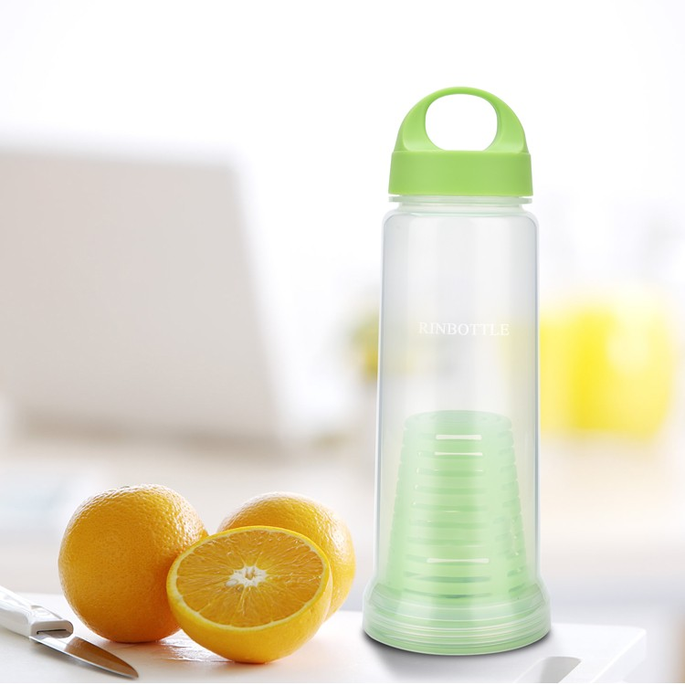 RINBOTTLE  Infuser Fruit Water Bottle Infuser,FDA Drinking Water Bottle with Fruit Infusion