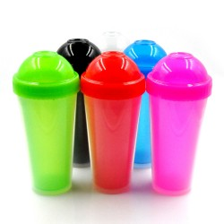 Xinyuetang plastic tumblers cups with lids and straws wholesale 480ml BPA free XYT-JLS16519