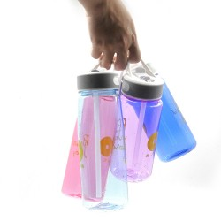 Xinyuetang Kids sports water bottle with bite valve color mixed 600ml XYT-TK811-B